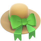 Womans Hat Emoji / Woman's Hat Emoji, Apple style