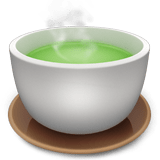 Teacup Without Handle Emoji, Apple style