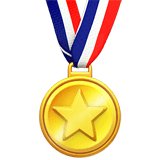 Sports Medal Emoji, Apple style