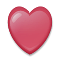Heart Suit Emoji, LG style