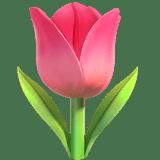 Tulip Emoji, Apple style