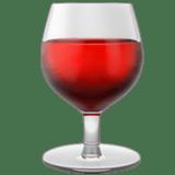 Wine Glass Emoji, Apple style