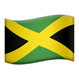 Flag of Jamaica Emoji, Apple style