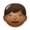 Boy Emoji with a Medium-Dark Skin Tone, LG style