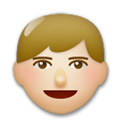 Man Emoji with a Medium-Light Skin Tone, LG style
