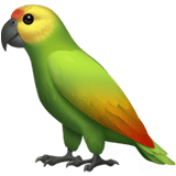 Parrot Emoji, Apple style