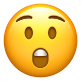 Shocked Emoji / Astonished Face Emoji, Apple style