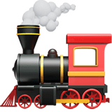Locomotive Emoji, Apple style