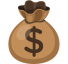 Money Bag Emoji, Facebook style