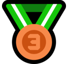 3rd Place Medal Emoji, Microsoft style