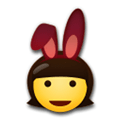 People With Bunny Ears Partying Emoji Meaning And Pictures border=