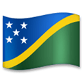 Flag of Solomon Islands Emoji, LG style