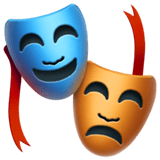 Performing Arts Emoji, Apple style