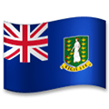 Flag of British Virgin Islands Emoji, LG style
