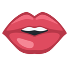 Mouth Emoji, Facebook style