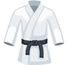 Martial Arts Uniform Emoji, Facebook style