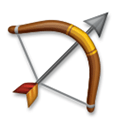 Bow and Arrow Emoji, LG style