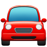 Oncoming Automobile Emoji, Apple style