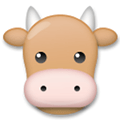 Cow Face Emoji, LG style