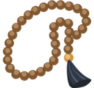 Prayer Beads Emoji, Facebook style