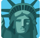 Statue of Liberty Emoji, Facebook style