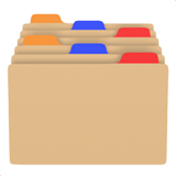 Card Index Dividers Emoji, Apple style