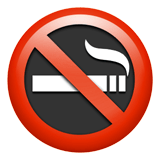 No Smoking Emoji, Apple style