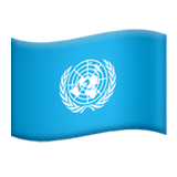 Flag: United Nations Emoji, Apple style