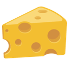 Cheese Wedge Emoji, Facebook style