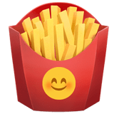 French Fries Emoji, Apple style