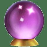 Crystal Ball Emoji, Apple style