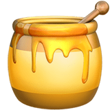 Honey Pot Emoji, Apple style