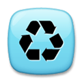 Recycle Emoji / Recycling Symbol, LG style
