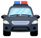 Oncoming Police Car Emoji, Facebook style