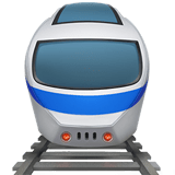 Train Emoji, Apple style