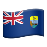 Flag: Ascension Island Emoji, Apple style