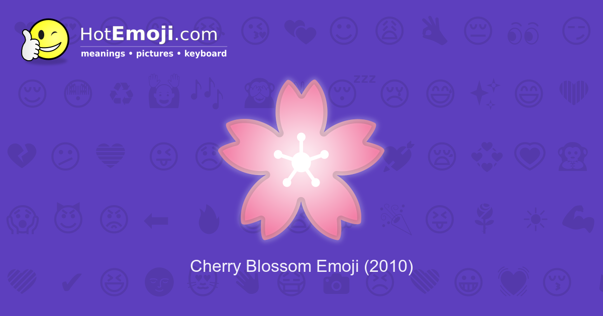 Flower Emoji Meaning With Pictures From A To Z