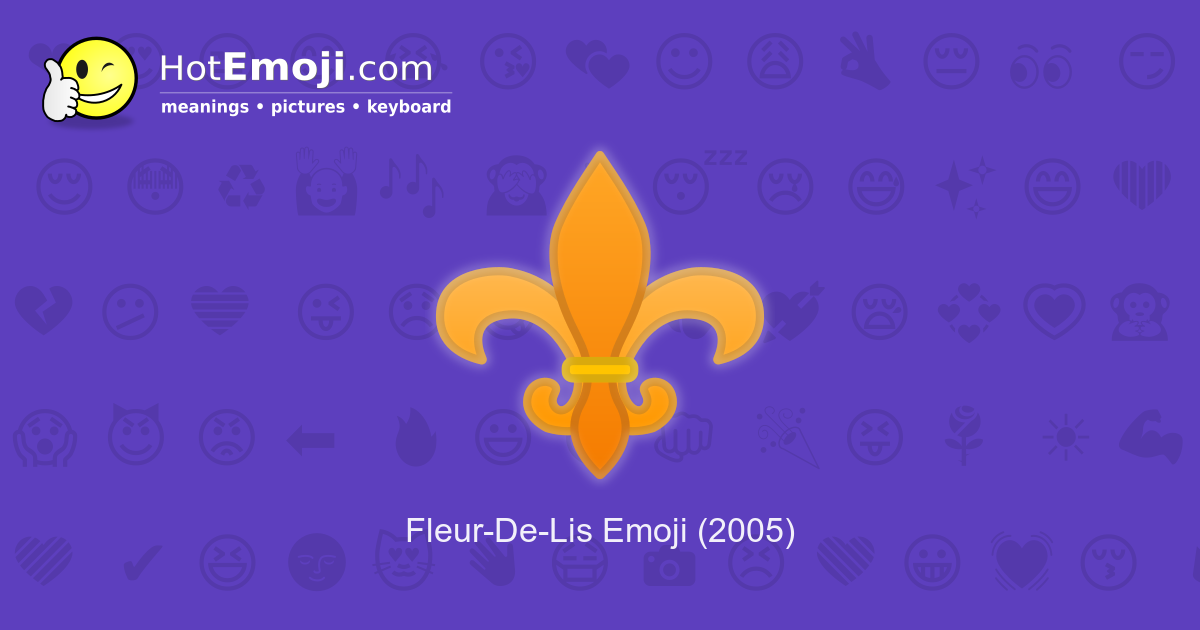 Fleur de lis meaning Meaning of
