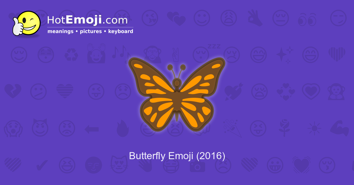 black butterfly emoji copy and paste best image of