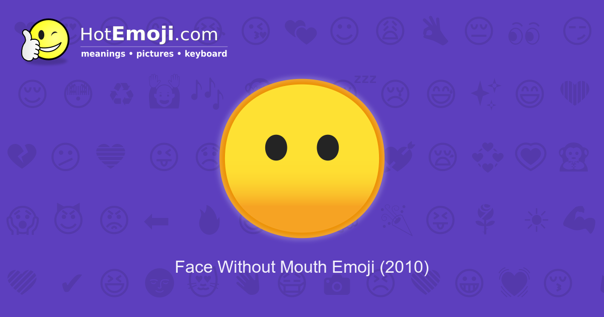 Blank Face Emoji Meaning With Pictures From A To Z