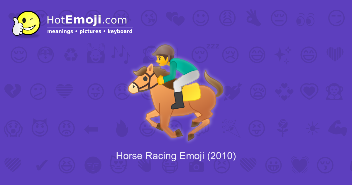 Horse betting odds meanings of emoji uc cricket betting games