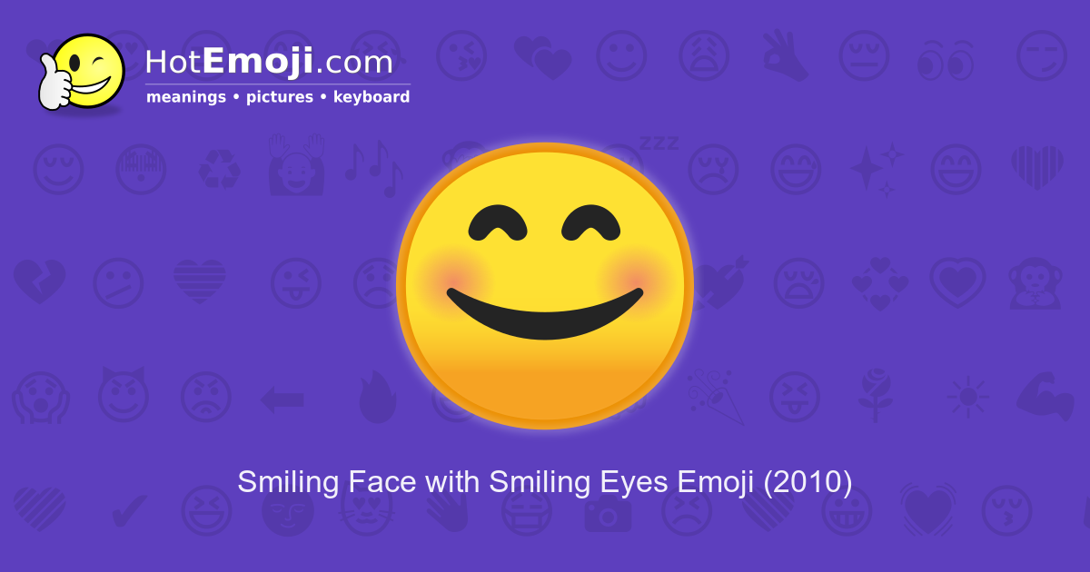 Blushing Emoji Meaning With Pictures From A To Z
